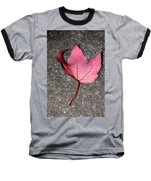 Autum Maple Leaf 2 Baseball T-Shirt