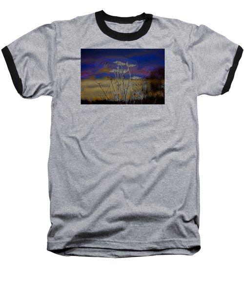 Autumn Abstract  Baseball T-Shirt by Leif Sohlman