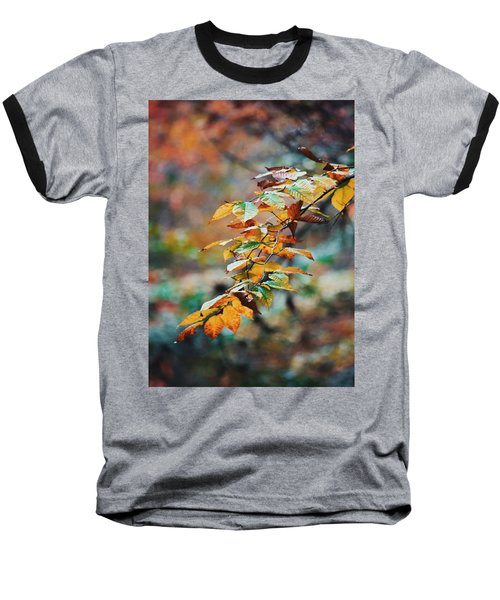 Baseball T-Shirt featuring the photograph Autumn Aesthetics by Parker Cunningham
