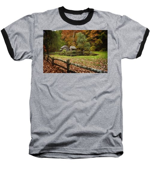 Autumn At Cuttalossa Farm V Baseball T-Shirt