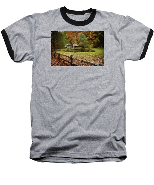 Autumn At Cuttalossa Farm V Baseball T-Shirt