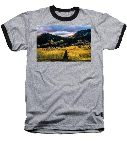 Autumn At Guardsman Pass Baseball T-Shirt