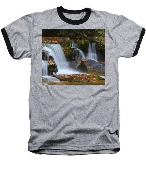 Autumn At Jackson Falls Baseball T-Shirt