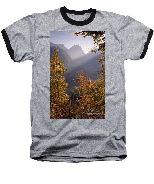 Autumn At Logan Pass Baseball T-Shirt
