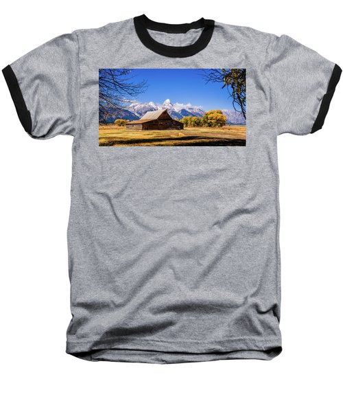 Autumn At Moulton Barn Baseball T-Shirt