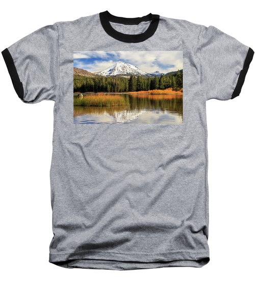 Baseball T-Shirt featuring the photograph Autumn At Mount Lassen by James Eddy