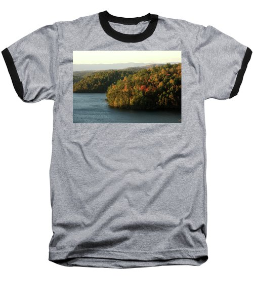 Autumn At Philpott Lake, Virginia Baseball T-Shirt