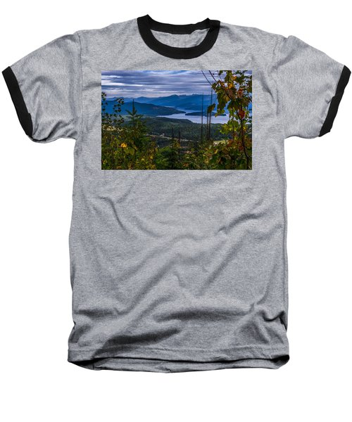 Autumn At Priest Lake Baseball T-Shirt by Yeates Photography