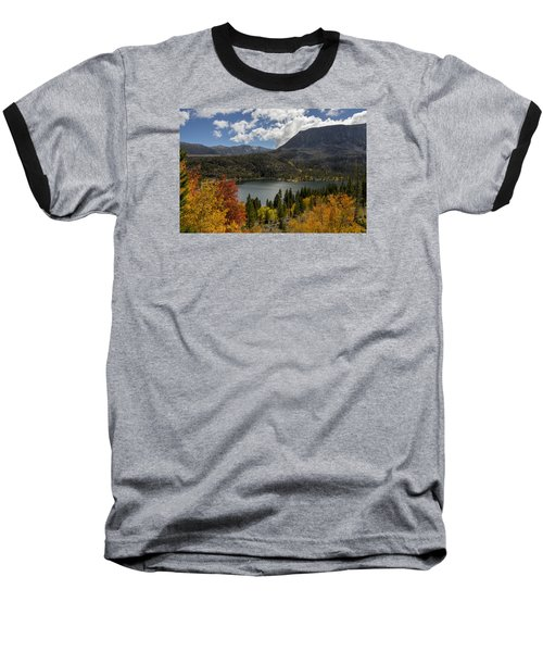 Autumn At Rock Creek Lake Baseball T-Shirt