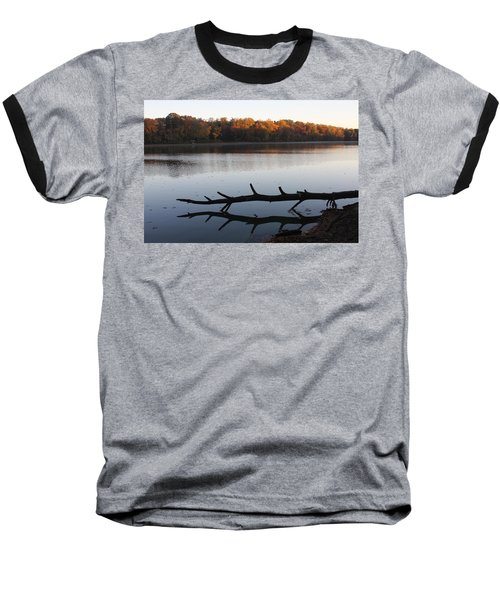 Autumn At The Lake Baseball T-Shirt