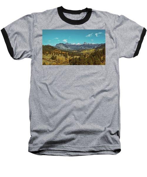 Autumn At The Weminuche Bells Baseball T-Shirt