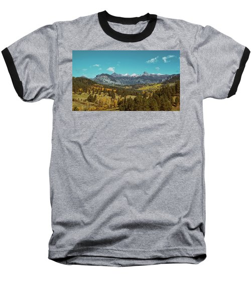Autumn At The Weminuche Bells Baseball T-Shirt