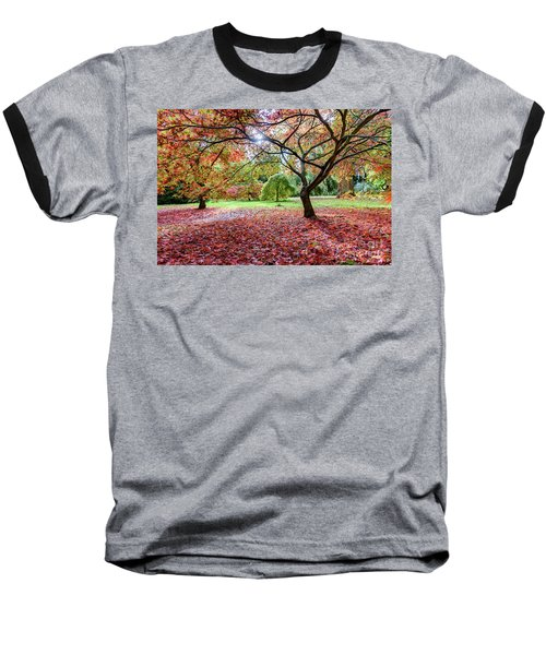 Autumn At Westonbirt Arboretum Baseball T-Shirt