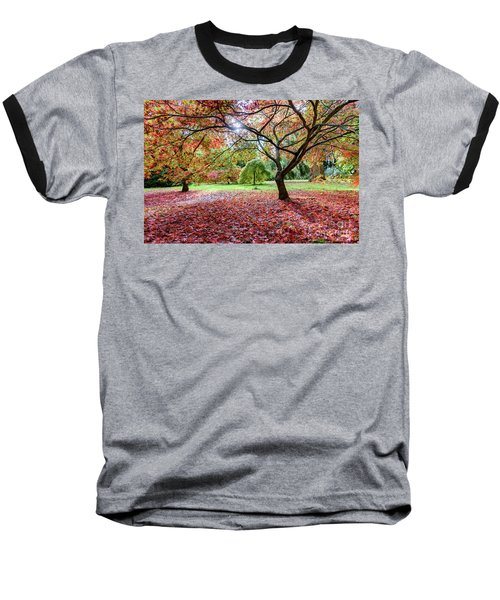 Autumn At Westonbirt Arboretum Baseball T-Shirt