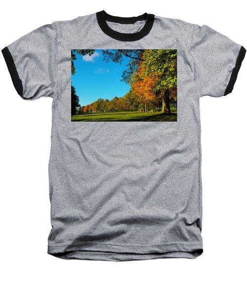 Autumn At World's End Baseball T-Shirt
