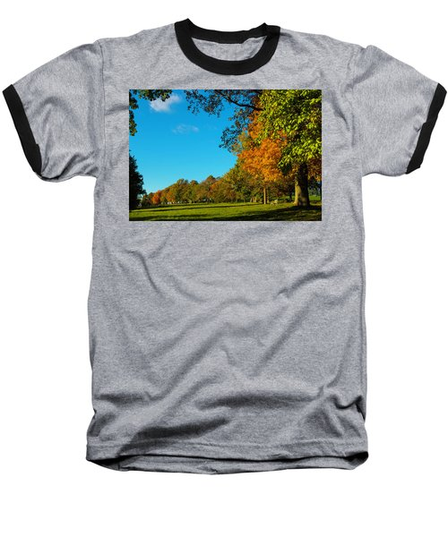 Autumn At World's End Baseball T-Shirt