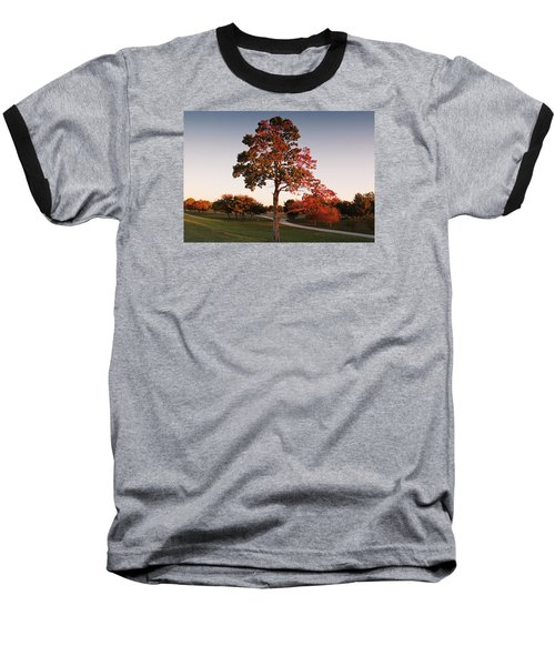 Autumn Beauty Baseball T-Shirt by Milena Ilieva