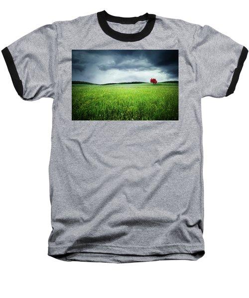 Baseball T-Shirt featuring the photograph Autumn by Bess Hamiti