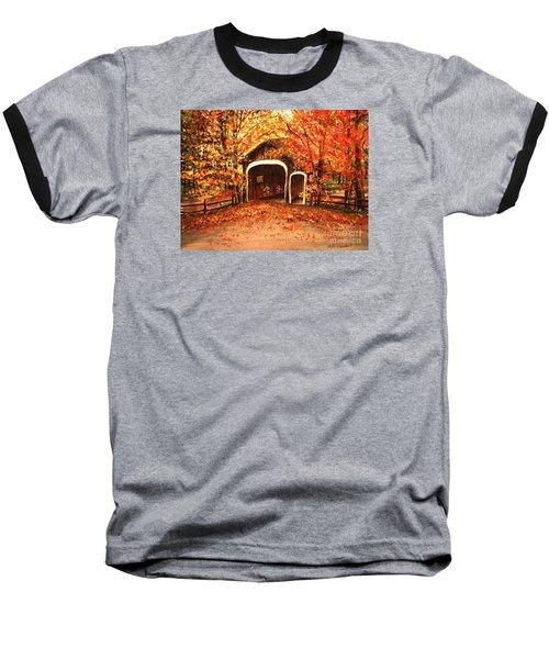 Autumn Bike Ride Baseball T-Shirt