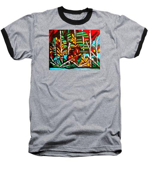 Autumn Blaze Baseball T-Shirt