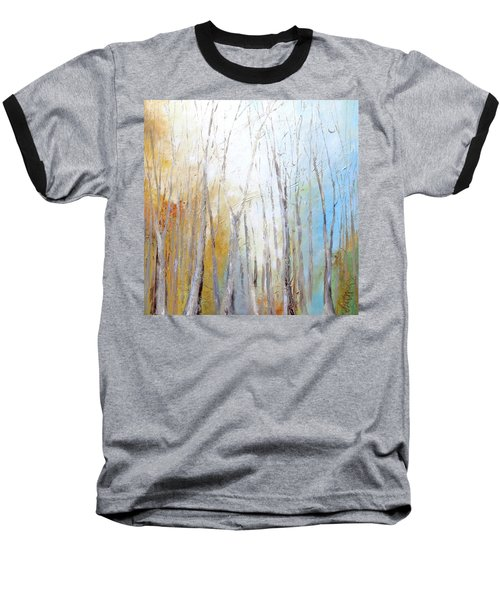 Baseball T-Shirt featuring the painting Autumn Bliss by Dina Dargo