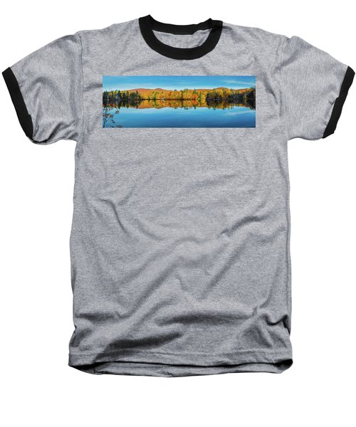 Autumn By The Lake Baseball T-Shirt