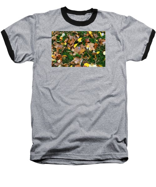 Autumn Carpet 002 Baseball T-Shirt