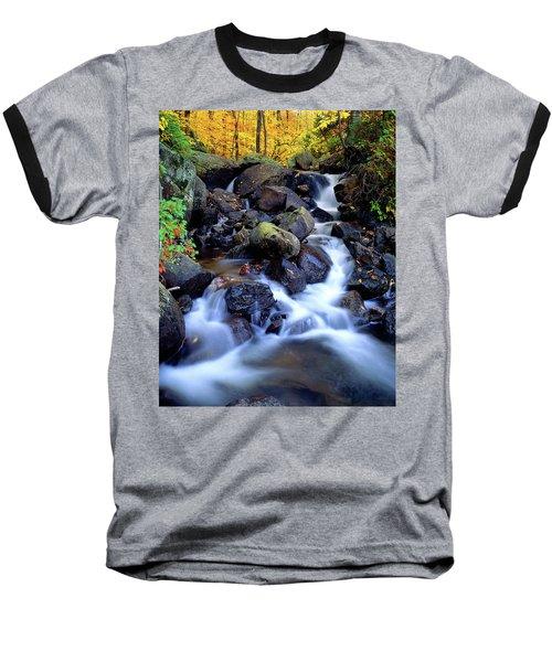 Autumn Cascade Baseball T-Shirt