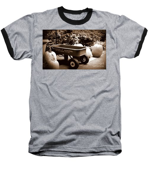 Autumn Chores Baseball T-Shirt