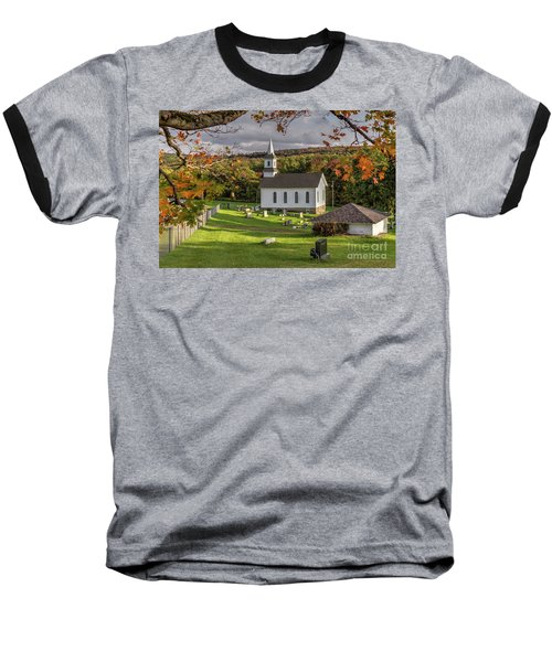 Autumn Church Baseball T-Shirt