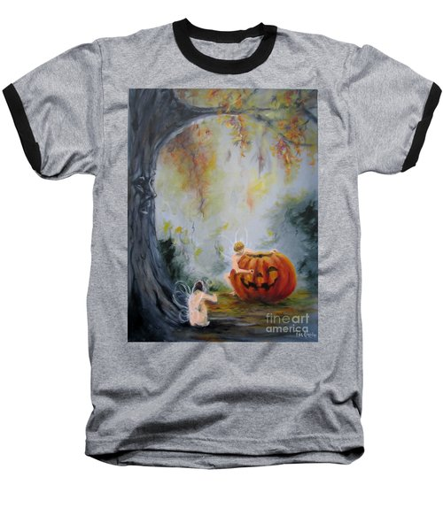 Autumn Color Celebration Baseball T-Shirt