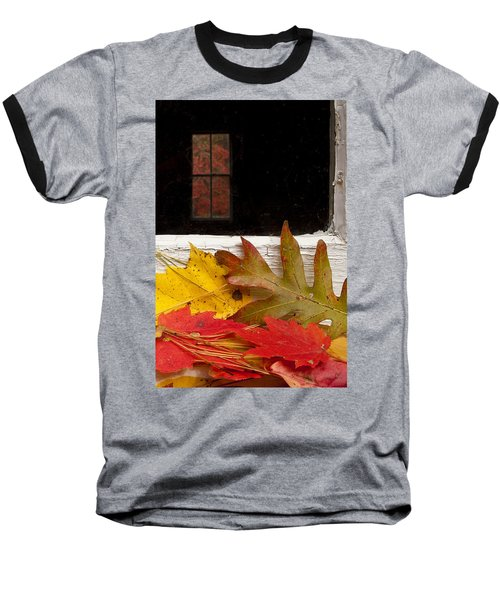 Autumn Colors Baseball T-Shirt by Andrew Soundarajan