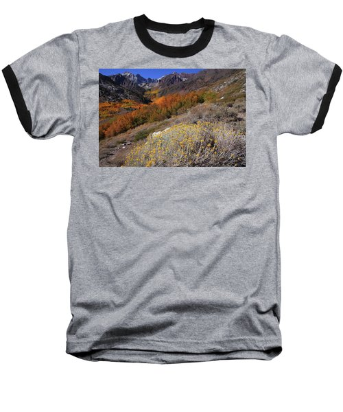 Autumn Colors At Mcgee Creek Canyon In The Eastern Sierras Baseball T-Shirt