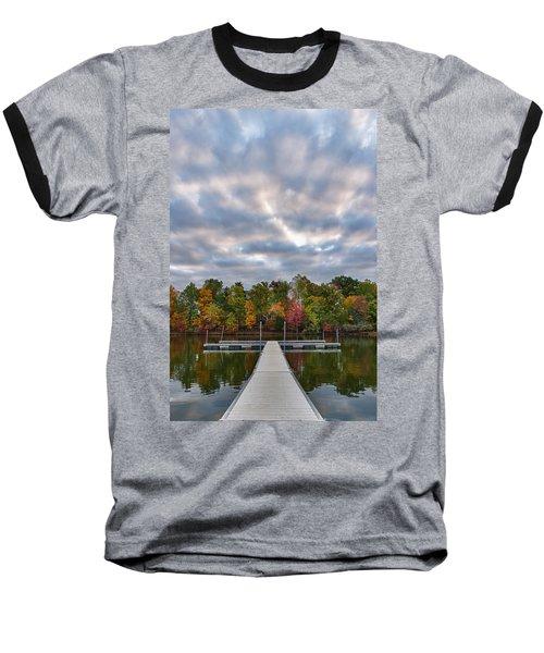 Autumn Colors At The Lake Baseball T-Shirt