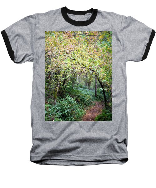 Autumn Colors In The Forest Baseball T-Shirt