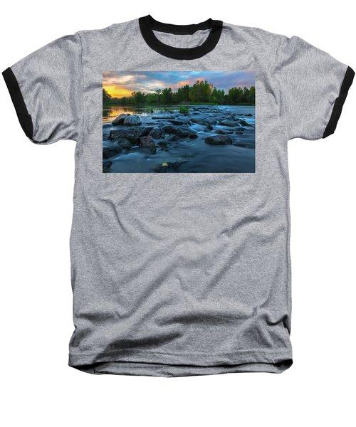 Autumn Comes Baseball T-Shirt