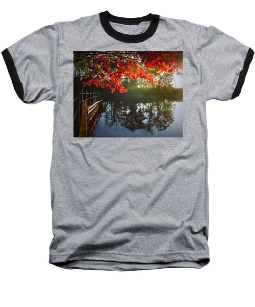 Autumn Creek Magic Baseball T-Shirt