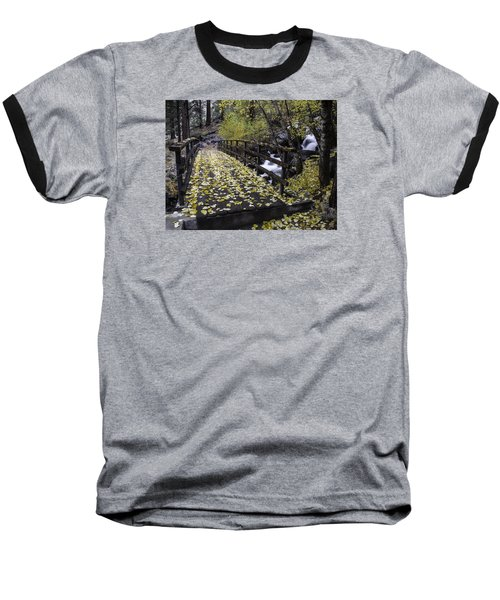 Autumn Crossing Baseball T-Shirt
