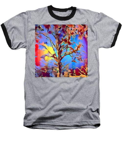 Autumn Day Baseball T-Shirt