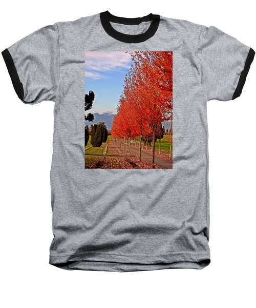 Autumn Delight, Vancouver Baseball T-Shirt by Brian Chase