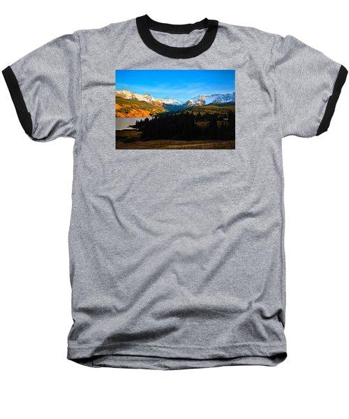 Autumn Drama Baseball T-Shirt