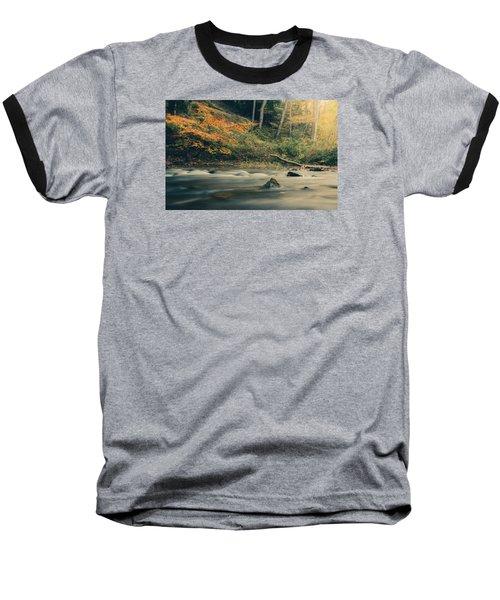 Autumn Dreamscape Baseball T-Shirt