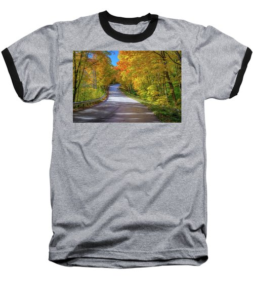 Autumn Drive  Baseball T-Shirt