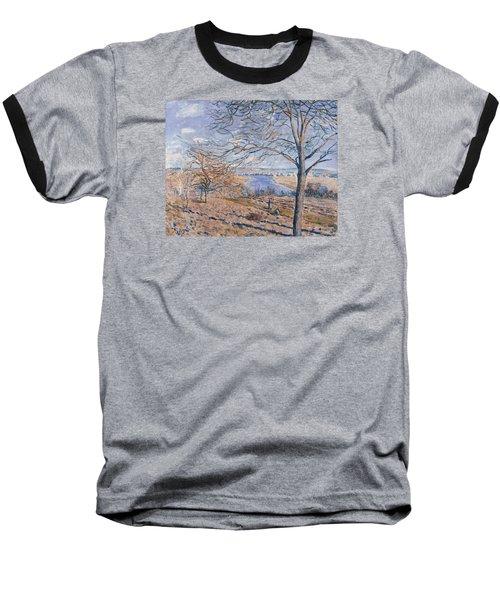 Autumn Effect Baseball T-Shirt by Alferd Sisley