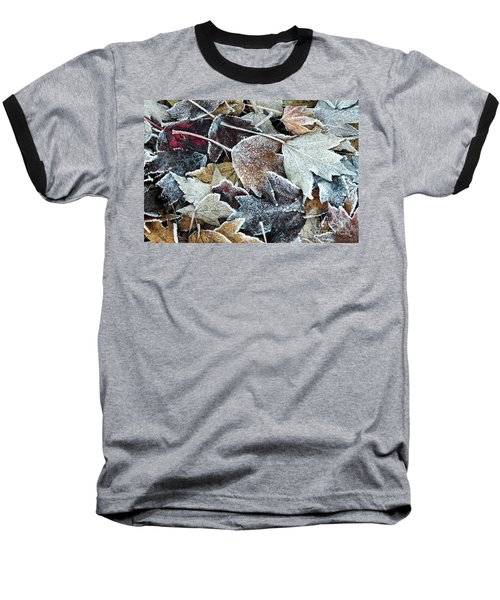 Baseball T-Shirt featuring the photograph Autumn Ends, Winter Begins 1 by Linda Lees