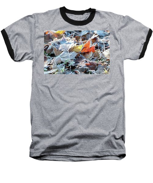 Baseball T-Shirt featuring the photograph Autumn Ends, Winter Begins 3 by Linda Lees