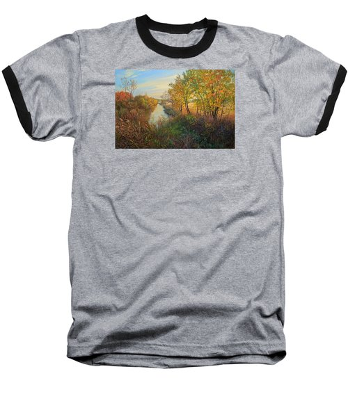 Autumn Evening Baseball T-Shirt