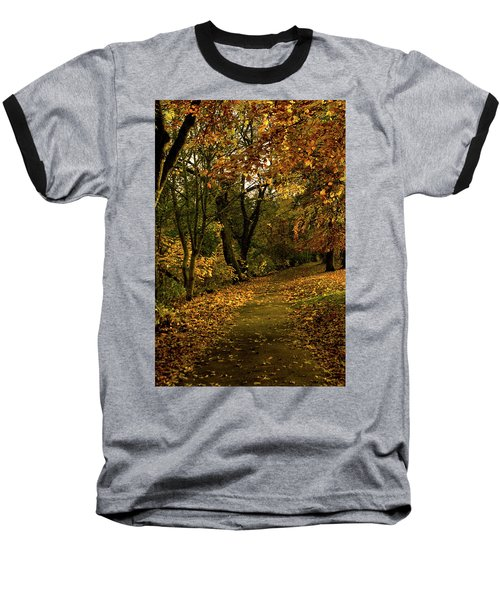 Autumn / Fall By The River Ness Baseball T-Shirt by Jacqi Elmslie