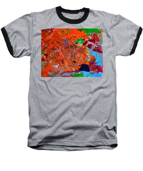 Autumn Falls Baseball T-Shirt