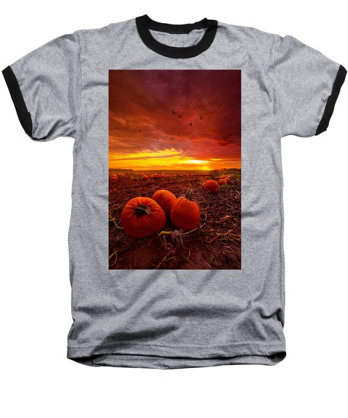 Autumn Falls Baseball T-Shirt